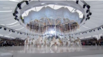 MONTAGE DU DEFILE LOUIS VUITTON FEMME  Printemps-Eté 2012